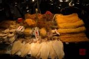 Taiwan 2012 - Taipei - Snake Alley - Tintenfischspezialitäten