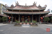Taiwan 2012 - Taipei - Dalongdong Baoan Tempel - Hauptgebäude