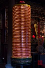 Taiwan 2012 - Taipei - Dalongdong Baoan Tempel - Gedenklichter