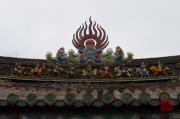 Taiwan 2012 - Taipei - Dalongdong Baoan Tempel - Dachornament