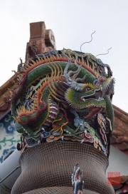 Taiwan 2012 - Taipei - Dalongdong Baoan Tempel - Drache