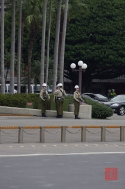 Taiwan 2012 - Taipei - Presidental Building - Garde-Ablösung