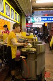 Taiwan 2012 - Taipei - Ningxia Nachtmarkt - Omlette I