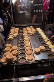 Taiwan 2012 - Taipei - Ningxia Nachtmarkt - Gebäck I