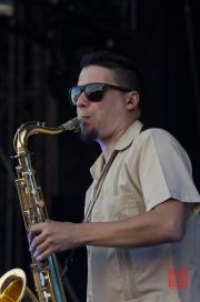 Das Fest 2013 - Karamelo Santo - Pablo Clavijo