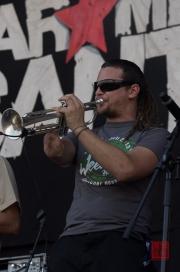 Das Fest 2013 - Karamelo Santo - Trumpet