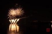 Volksfest Nuremberg 2013 - Fireworks - Silver Purple & Fountains