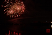 Volksfest Nuremberg 2013 - Fireworks - Red & Gold