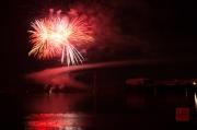 Volksfest Nuremberg 2013 - Fireworks - Red & White