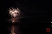 Volksfest Nuremberg 2013 - Fireworks - White Flowers