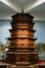 Shanxi 2013 - Exhibition - Wooden Pagoda Replica