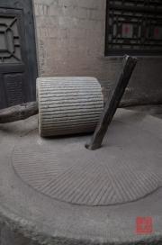 Shanxi 2013 - Qiao Family Courtyard - Grindstone