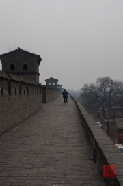 Pingyao 2013 - Bicycle on the wall