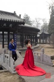 Jinci Temple 2013 - Wedding couple