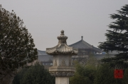 Xian 2013 - Giant Wild Goose Pagoda - Roofs