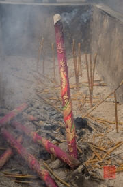 Xian 2013 - Giant Wild Goose Pagoda - Incense Stick