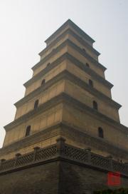 Xian 2013 - Giant Wild Goose Pagoda - Pagoda sideview