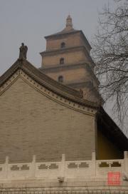 Xian 2013 - Giant Wild Goose Pagoda - Side building & Pagoda