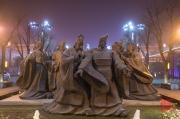 Xian 2013 - Heros sculpture
