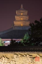 Xian 2013 - Giant Wild Goose Pagoda by Night