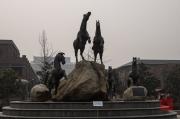 Xian 2013 - Terracotta Army - Horse sculpture