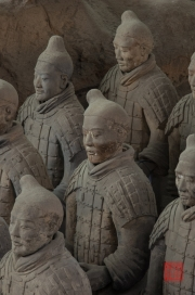 Xian 2013 - Terracotta Army - Soldiers close-up