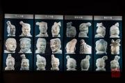 Xian 2013 - Terracotta Army - Diversity of sculptures