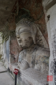 Baodingshan 2013 - Bust of Vairocana I