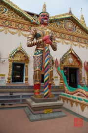 Malaysia 2013 - Georgetown - Wat Chaiya Mangkalaram - Sculpture