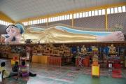 Malaysia 2013 - Georgetown - Wat Chaiya Mangkalaram - Lying Buddha
