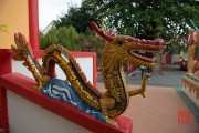 Malaysia 2013 - Georgetown - Wat Chaiya Mangkalaram - Dragon Sculpture
