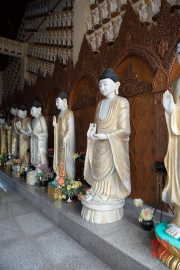 Malaysia 2013 - Georgetown - Burmese Buddhist Temple - Buddha Sculptures