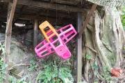 Malaysia 2013 - Penang - Spice Garden - Chair Art