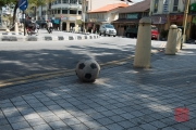 Malaysia 2013 - Georgetown - Street Art - Football