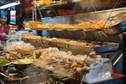 Malaysia 2013 - Kuala Lumpur - Street Market - Barbecue