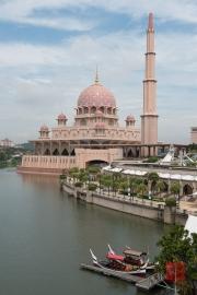 Malaysia 2013 - Putrajaya - Red Mosque