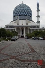 Malaysia 2013 - Blue Mosque - Entrance
