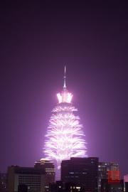 Taipeh 101 - 2013 Fireworks - Purple I