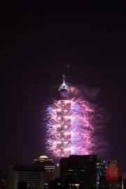 Taipeh 101 - 2013 Fireworks - Purple III