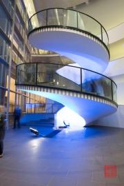 Blaue Nacht 2014 - Neues Museum - Stairs II