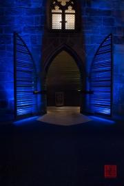 Blaue Nacht 2014 - St. Elisabeth - Entrance