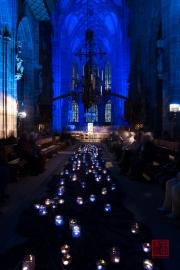 Blaue Nacht 2014 - Lorenzkirche - Inside