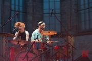St. Katharina Open Air 2014 - Wallis Bird - Drums Solo/Duo