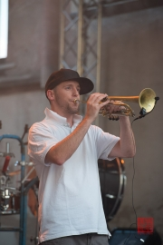 St. Katharina Open Air 2014 - Pullup Orchestra - Soulfill Franklin II