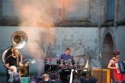 St. Katharina Open Air 2014 - Hazmat Modine - Graham Hawthone IV