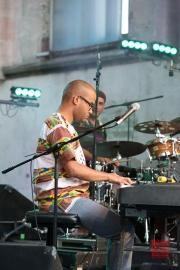 Bardentreffen 2014 - Carmen Souza - Keyboard