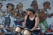 Bardentreffen 2014 - Tico Sandoval - Drums