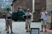 Bardentreffen 2014 - Horn Quartett Meistersinger