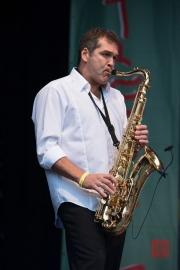 Bardentreffen 2014 - Nomfusi - Saxophone