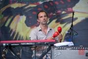 Bardentreffen 2014 - Tamikrest - Keyboard